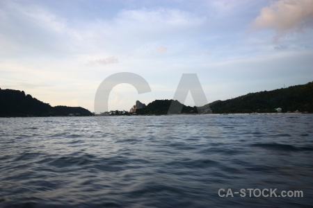 Island asia water southeast sky.