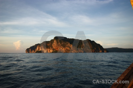 Island cloud thailand cliff southeast asia.