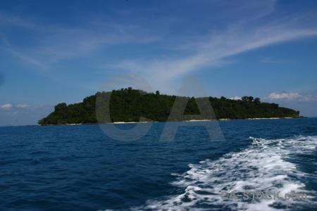 Island phi island bamboo sky koh mai phai.