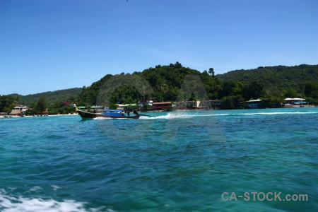 Island thailand asia ko phi don southeast.