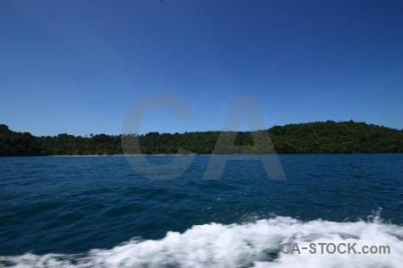 Island thailand asia sea tonsai bay.