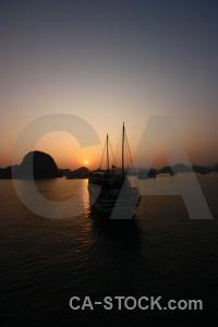 Island unesco vietnam southeast asia sea.