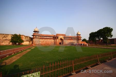 Jahangir monument dome mughal railing.