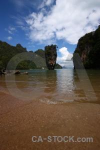 James bond water sea khao phing kan phang nga bay.