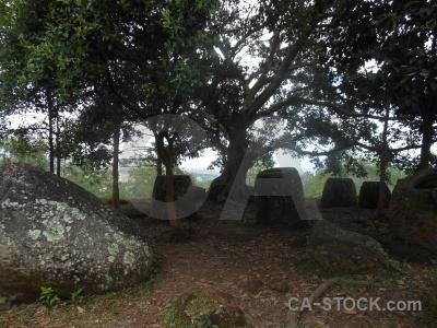 Jar megalithic urn phonsavan site 2.
