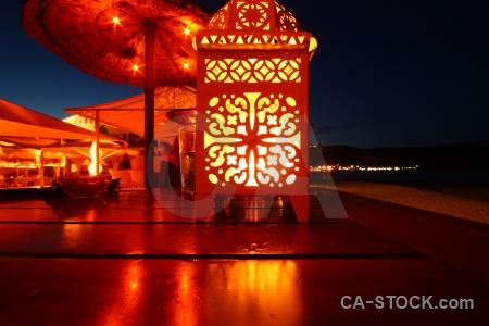 Javea bar spain europe lantern.