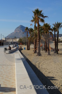 Javea beach europe arenal blue.