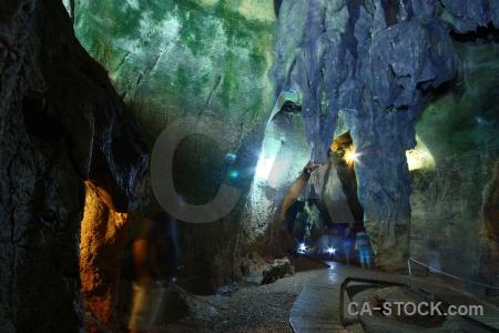 Javea benidoleig rock path cueva de las calaveras.