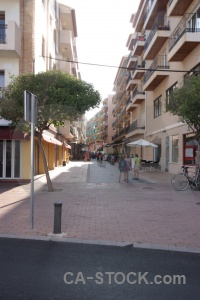 Javea building europe spain road.