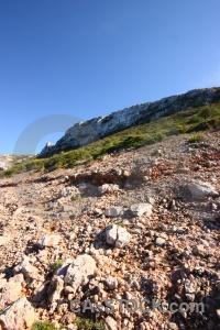 Javea cliff plant sky rock.