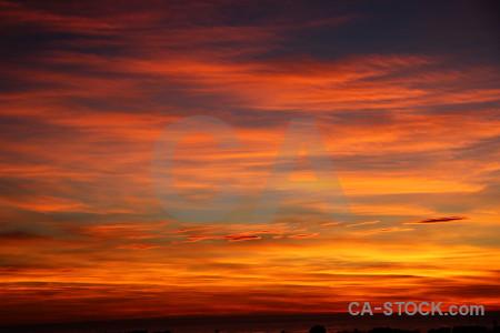 Javea cloud europe sunrise sunset.