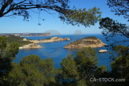 Javea europe blue mirador challenge sea.