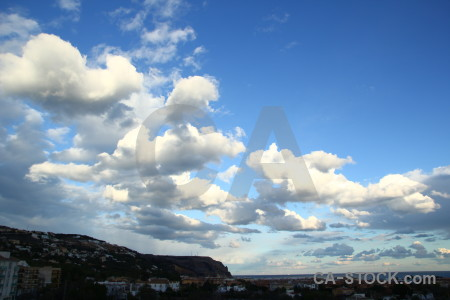 Javea europe sky spain cloud.