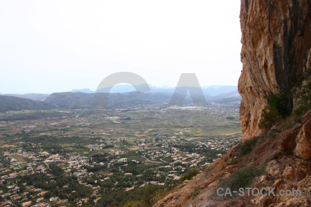 Javea europe spain montgo eye climb.