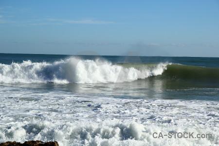 Javea europe spain wave sea.