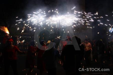 Javea fiesta correfocs firework europe.