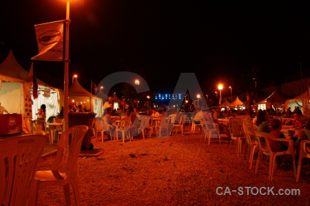 Javea fiesta person chair tent.