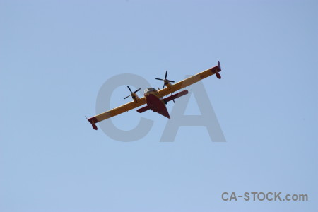 Javea firefighting montgo fire europe airplane.