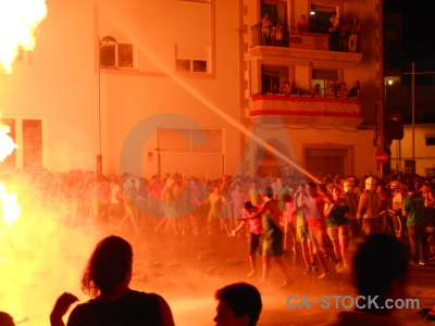 Javea flame person building fire.