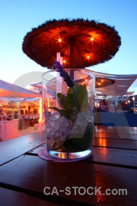 Javea light spain mojito bar.