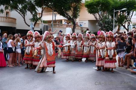 Javea moors costume fiesta christian.