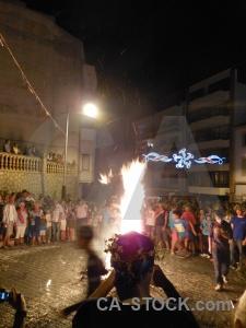Javea person flame fire fiesta.