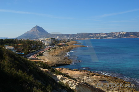 Javea sea sky montgo spain.