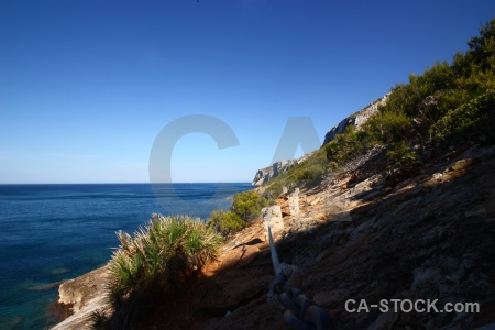 Javea sea spain water europe.
