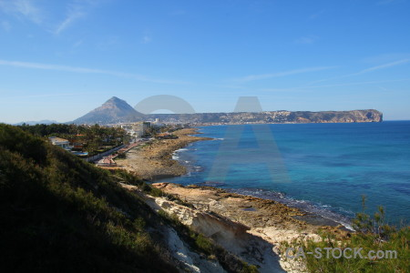 Javea sky montgo spain blue.