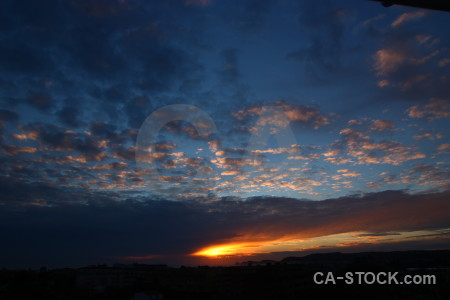 Javea spain cloud sunset sunrise.