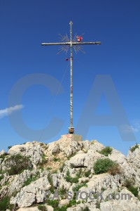 Javea spain cross europe montgo climb.