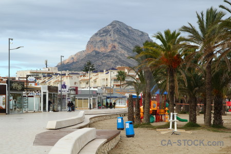 Javea spain montgo europe beach.