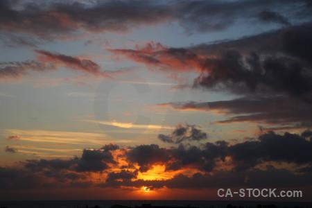 Javea spain sun sunset cloud.
