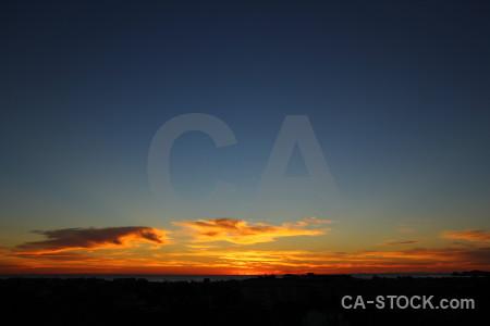 Javea sunset europe cloud sky.