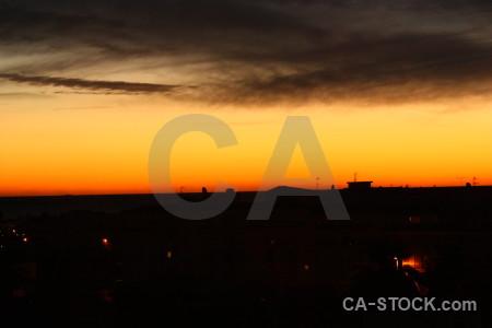 Javea sunset europe spain sunrise.