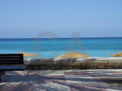 Javea water europe spain beach.