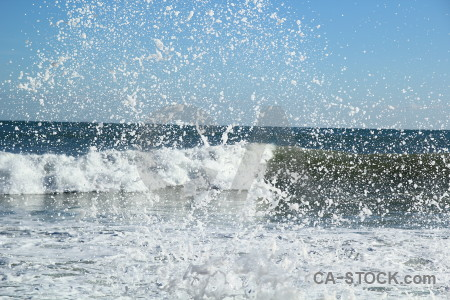Javea water wave europe sea.