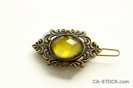 Jewellry yellow white object.