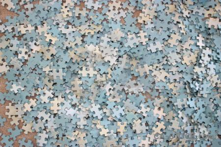 Jigsaw texture.