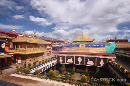 Jokhang symbol asia sky buddhism.