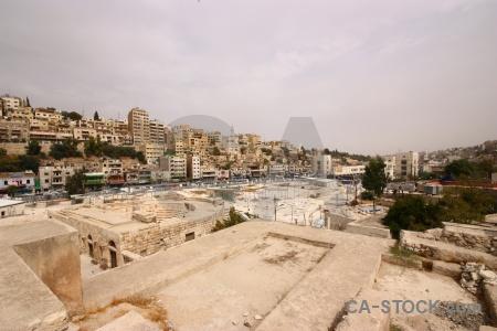 Jordan amman building sky historic.