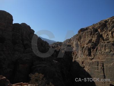 Jordan archaeological sky rock western asia.