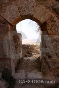 Jordan asia ajloun sky ancient.