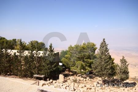 Jordan asia western rock landscape.