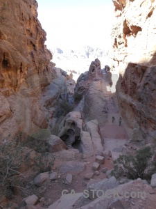 Jordan cliff asia rock middle east.