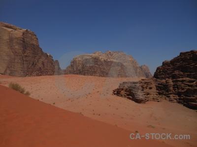 Jordan desert dune bedouin rock.