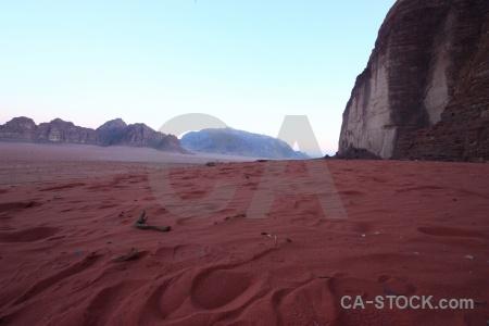 Jordan desert rock sand asia.
