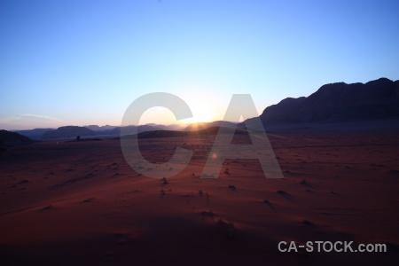 Jordan landscape bedouin middle east sun.