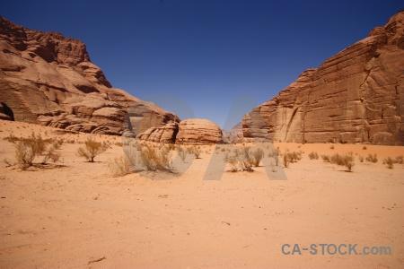 Jordan landscape mountain western asia sand.