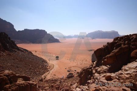 Jordan middle east bedouin landscape sand.
